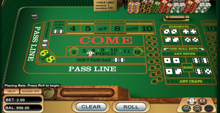 Craps to Play Online for Real Money